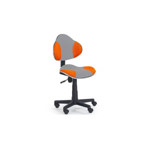 Scaun birou copii Flash gri/orange